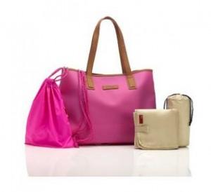 Storksak Ariel Diaper Bag, Hot Pink