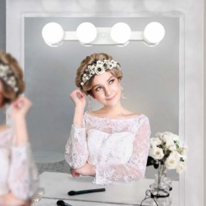 makeup vanity table set with lights
