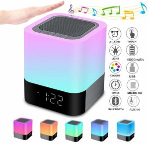 Bluetooth Speaker Night Lights