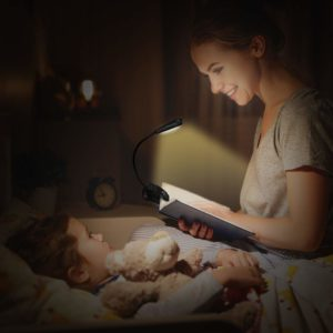 Vekkia Rechargeable 6 Warm LED Book-Light
