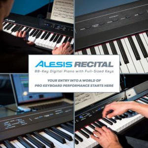 Alesis Recital 88 Key Beginner Digital Piano