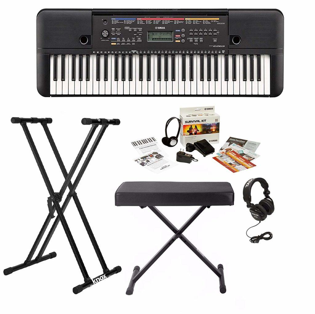 Yamaha PSRE263 61 Key Keyboard