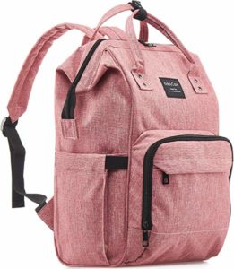 hot pink diaper bag
