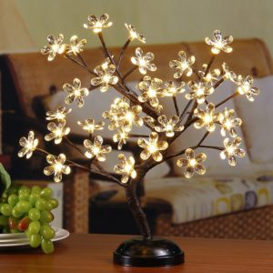 led light flowers