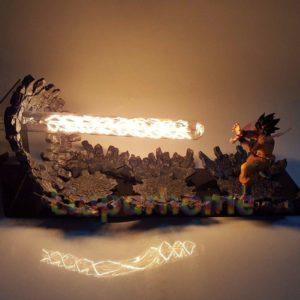 dragon ball z goku lamp