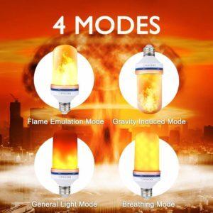 led flame bulb
