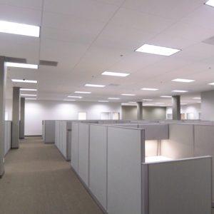 led flat panel ceiling lights