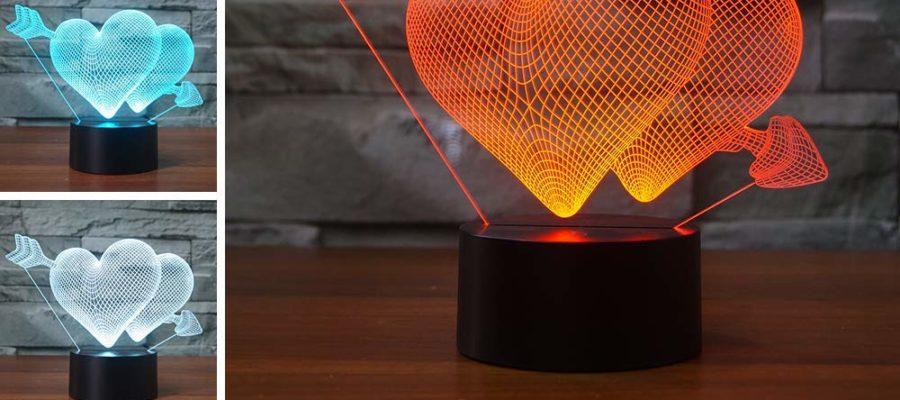 3D led