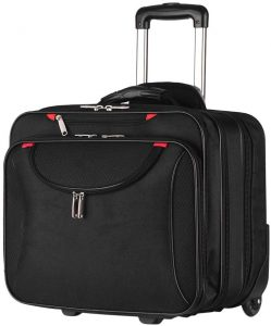 AirTraveler Rolling Briefcase Rolling Laptop Bag