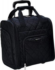 AmazonBasics Rolling Travel Luggage Bag