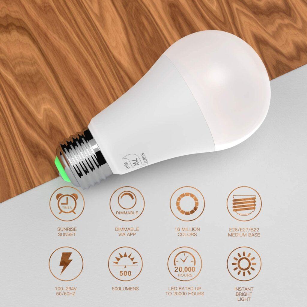 BERENNIS Smart Light Bulb
