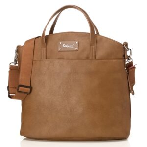 Babymel Grace Vegan Leather Tote Diaper Bag