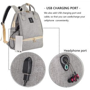 Breast Pump Backpack With Usb Charging Port