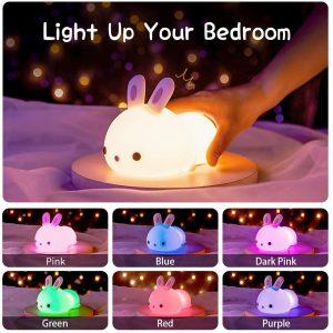 Cute Bunny Kids Night Light