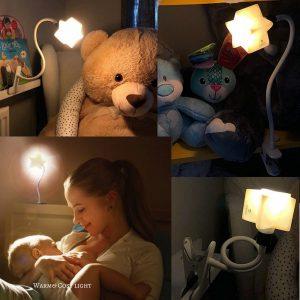 Ergojojo LED Clip-On Star Lamp