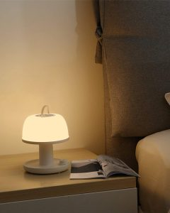 Gladle Cordless Dimmable Bedside Lamp