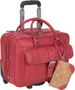 Heritage Travelware Wheeled Business Portfolio Tote