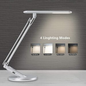 JUKSTG 36pcs LEDs 14W 7 Dimming Levels Table Lamps