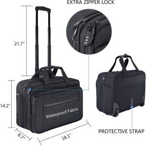 KROSER Rolling Laptop Bag