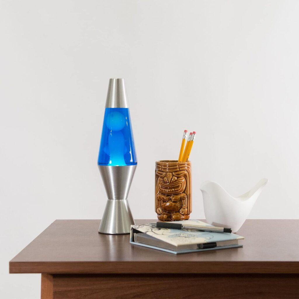 Lava Lite 1953 Silver Base Lamp