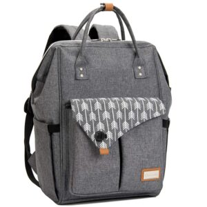 Lekebaby Diaper Bag Backpack for Mom