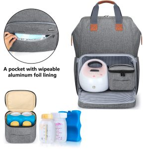 Luxja Breast Pump Backpack