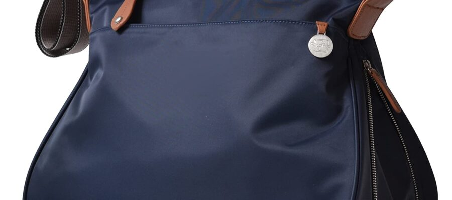 PacaPod Portland Navy Designer Baby Diaper Bag