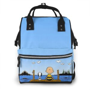 Snoopy Waterproof Travel Backpack