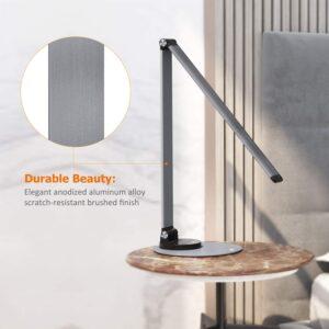 TaoTronics Aluminum Alloy Dimmable LED Desk Lamp