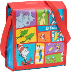 Vandor Dr. Seuss Recycled Messenger Tote