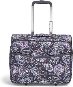 Vera Bradley Womens Softside Rolling Work Bag