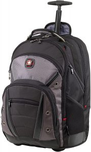 Wenger Luggage Synergy Padded Wheeled Laptop Bag