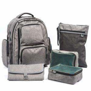 best backpack diaper bag for 2 kids