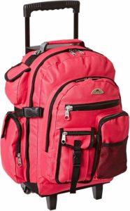 nursing rolling backpack