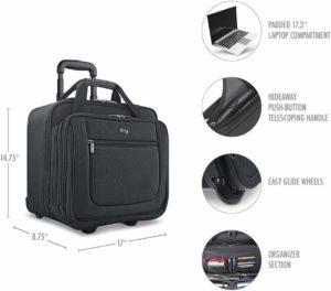 rolling computer bag