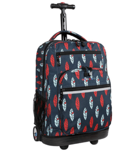 top rated school rolling backpacks