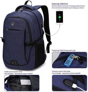 SHRRADOO Durable Waterproof Backpack