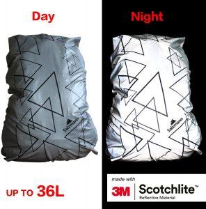 Salzmann 3M Reflective Backpack Cover