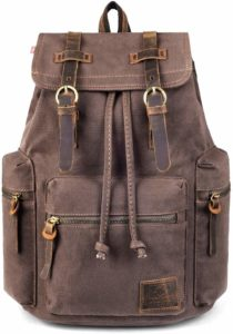 best waxed canvas backpack