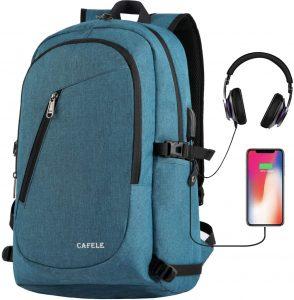 cafele water resistant college backpack