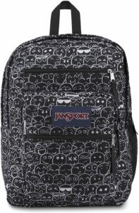 jansport leopard backpack