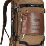 Top 4 Kaukko canvas hiking camping backpack Reviews