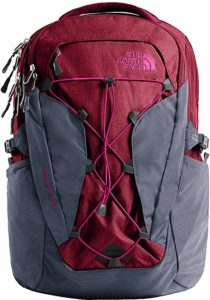 monogrammed north face backpack