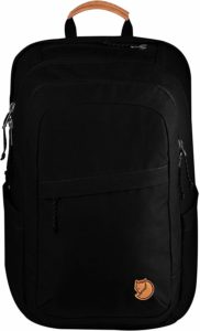 fjallraven raven 28l backpack black