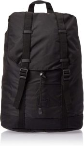 herschel retreat black rubber
