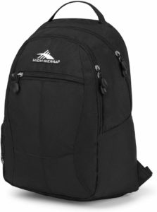 high sierra academy backpack review