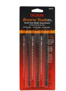 olson saw blades for scroll sawing