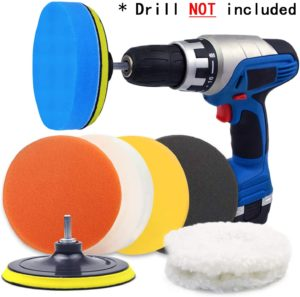 POLIWELL 6-Inch Car Polishing Pads