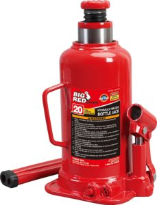 big red 20 ton stubby bottle jack
