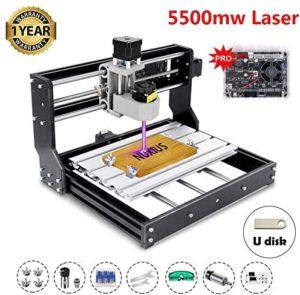 SZCY LLC 5500mw Engraver CNC 3018 Pro Engraving Machine